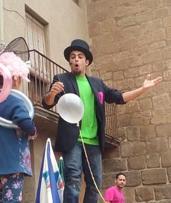 Mago Goyo festival de magia en la calle