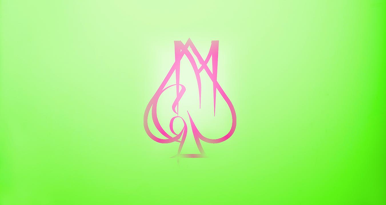 Logotipo de fondo con colorido familiar