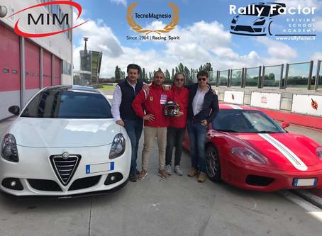 Francesco Grillandini ospite alla Rally Factor Driving School