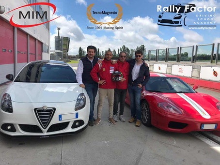 Francesco Grillandini ospite alla Rally Factor Driving School