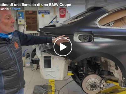 Sostituzione di una fiancata su una BMW Coupé