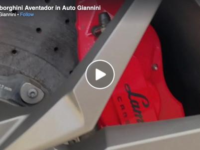 Interventi di carrozzeria su una Lamborghini da Auto Giannini, presto su SKY