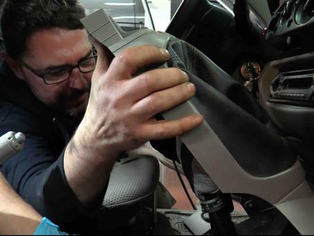 Intervento di autoriparazione: sostituire la frizione di un Mitsubishi L200.