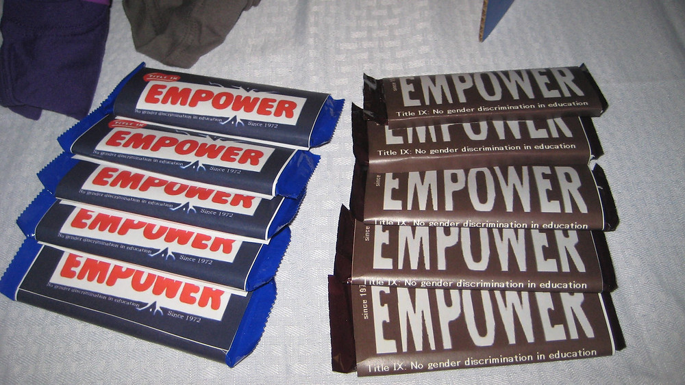 Empower Candy Wrappers