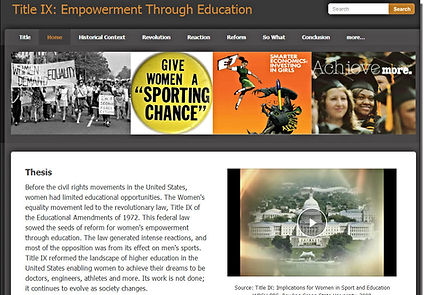 Title IX - Empowerment Through Education