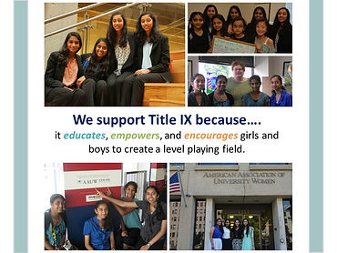 We support Title IX
