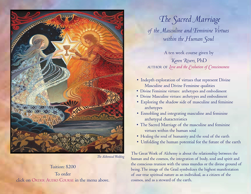 Marriage of Masculine and Feminine audio
