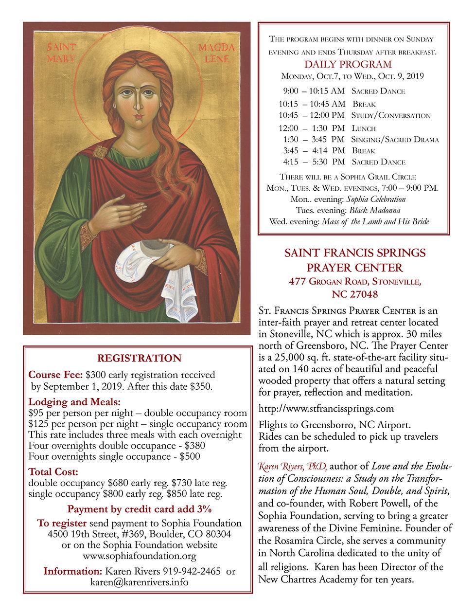 Mary, Mary Magdalene Women's Retreat 201