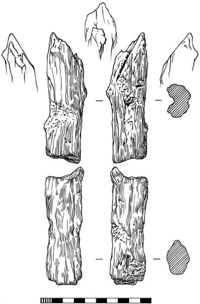 Archaeological illustration, rorik