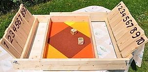 """jeu en bois """"le double ferme la boîte"""""""