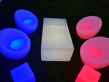 Location fauteuil lumineux