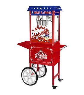 location machine popcorn avec chariot