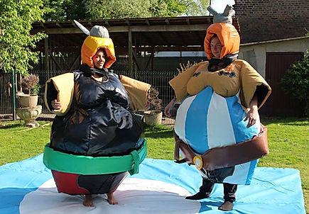 location costumes de sumo astérix et obélix