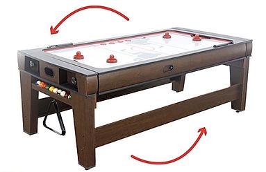 Location table air hockey
