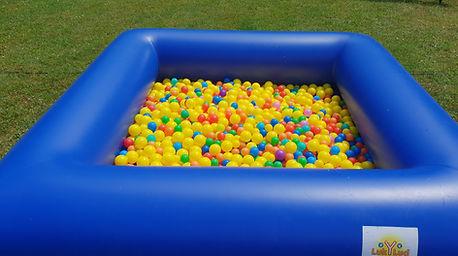 location piscine à balle