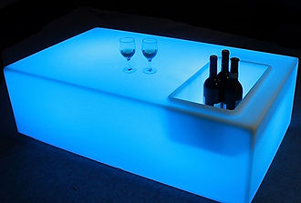 Location table basse Lumineuse LED