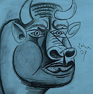 Blue bull Picasso.png
