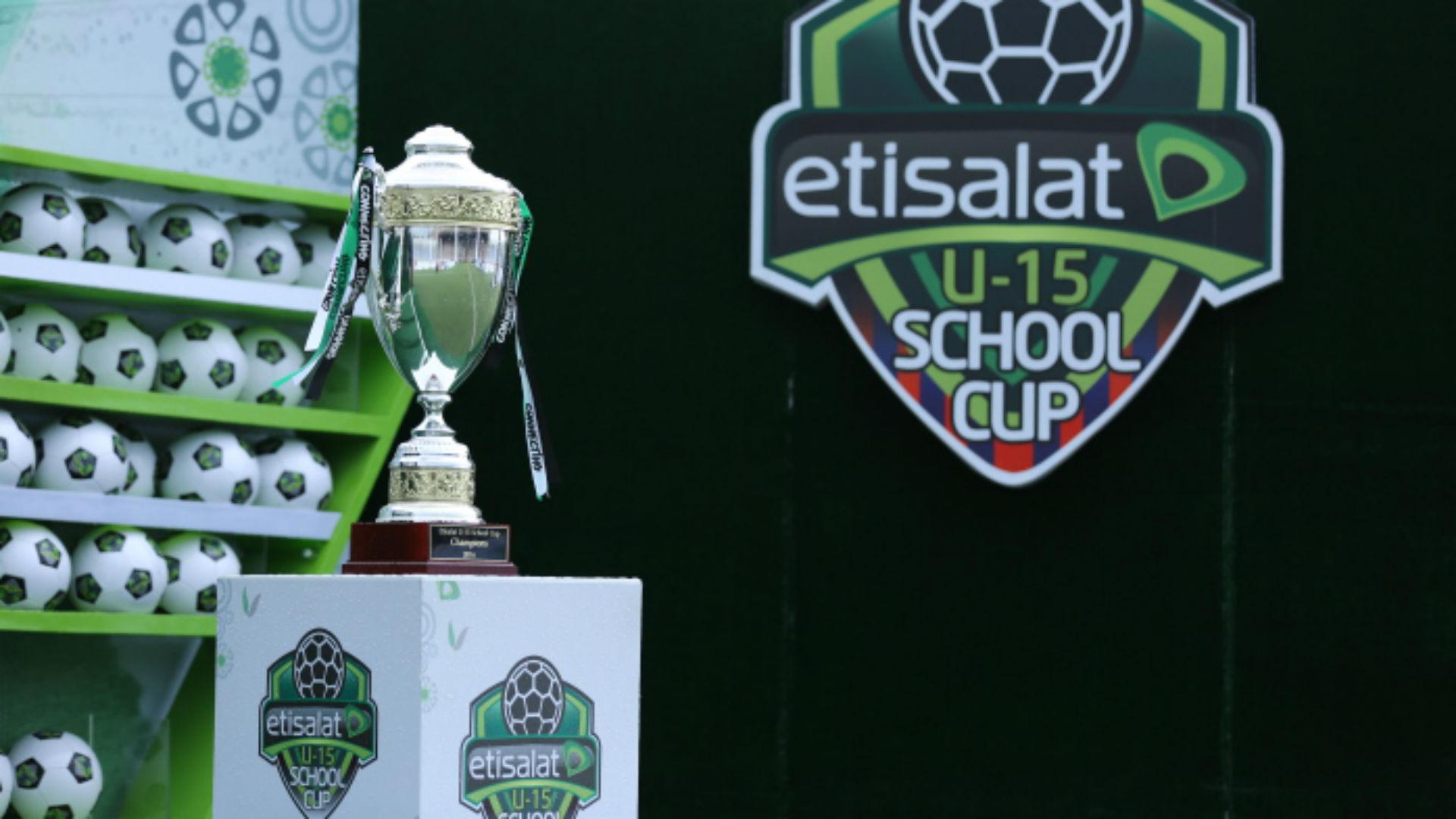 Etisalat U15 Football tourney