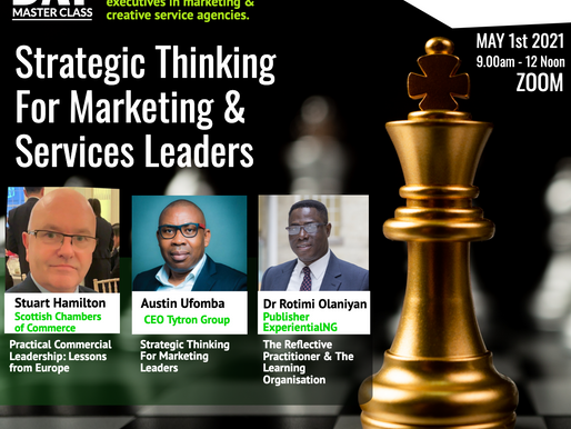 Strategic Thinking for Marketing and Services Leaders