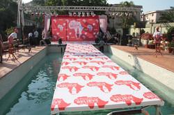Coke Internal staff pool party