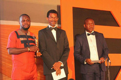 Receiving the EXMAN Awards