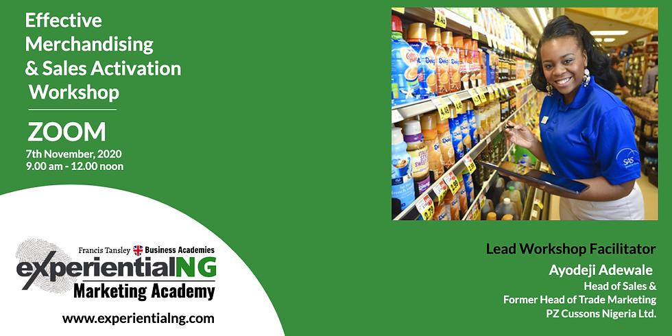 Effective Merchandising & Sales Activation Workshop