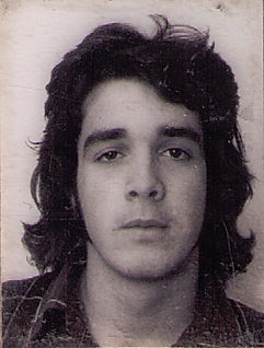 Mike Giunta as a 17 year old punk at Gloucester High School. 1973