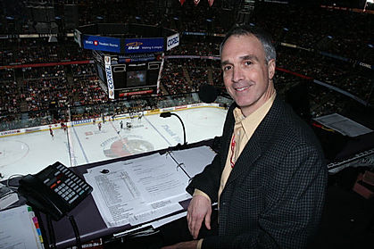 Michael Anthony as the voice of the Ottawa Senators