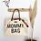 Thumbnail: Mommy bag Ecru-Zwart
