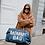 Thumbnail: Mommy bag teddy Navy-Wit