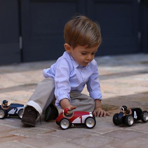 Speelgoed Racewagen Zwart/Blauw/Rood/Zilver