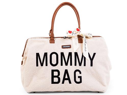 Mommy bag teddy Ecru