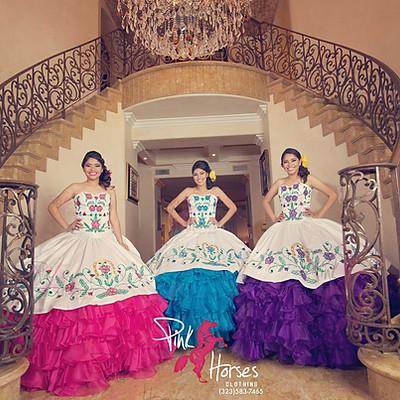 Quinceañera Fifteen Dresses