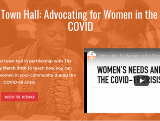 Advocating for Women in the Time of COVID