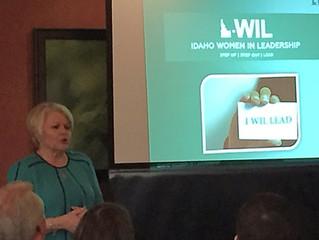 I-WIL's Debbie Field speaks to the Women in Transportation Seminar