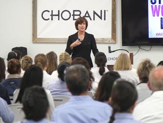 Inspiring Chobani's Women Leaders