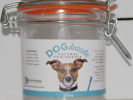 Dog dazzle natural toothpaste
