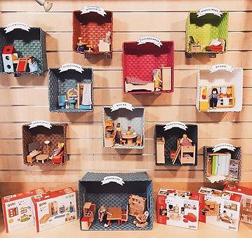 [Werbung] Goki Puppenhaus Möbel ✨ #goki