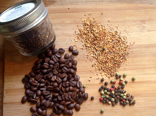 Dave's Hot & Spicy Dry Coffee Meat & Vegetable Rub