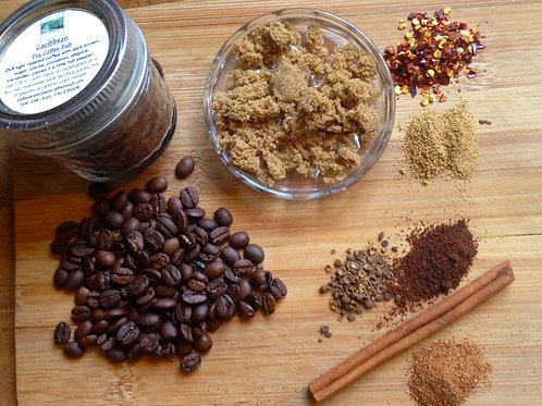 Caribbean Dry Coffee Meat & Vegetable Rub