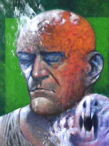 Autoportret z małym krzykiem