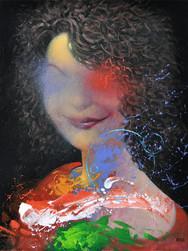 Kobieta z uśmieszkiem