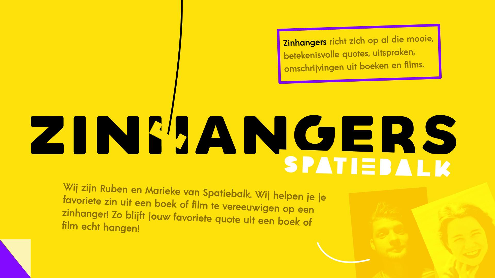 Zinhangers!