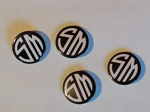 SM Pin Badge