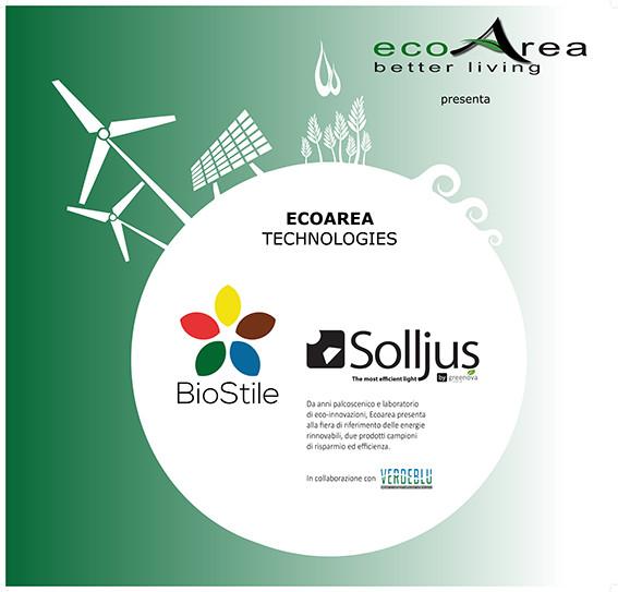 Ecoarea technologies Padiglione B5, Stand 189