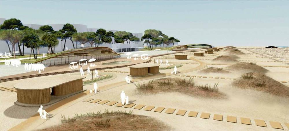 Progetto di Parco del Mare a Rimini