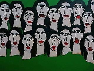 """""""18"""", 2014, acrylic on canvas"""