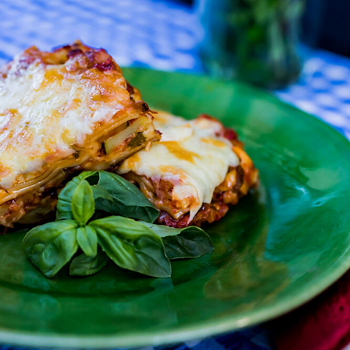 Vegetarian Lasagne - ready-made meal