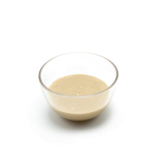 Organic hulled tahini