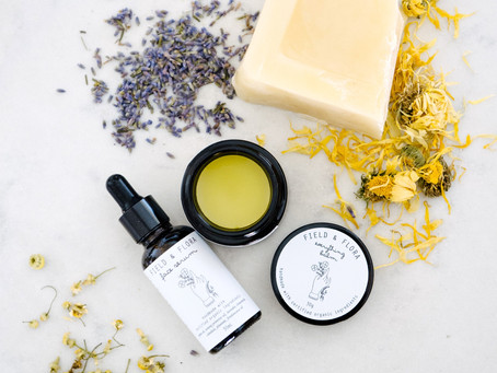 All natural skincare - made by us!